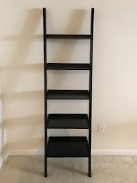black wooden 5-layer shelf Ashburn, 20147