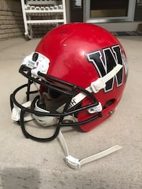 Red and black youth warriors football helmet Highlands Ranch, 80129