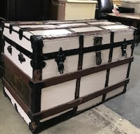 Vintage Steamer Trunk-Authentic Wake Forest, 27587