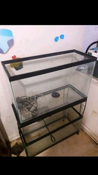 Two 20 gal fish tanks 1 tall 1long