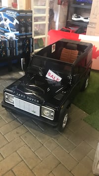 toddler's black Land Rover ride on toy car Pickering, L1W 4B9