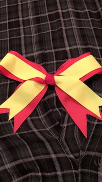 yellow and red ribbon Spring, 77386