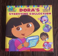 Thick hardcover Dora's Story Time Collection Book Vaughan, L6A 0C3