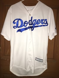 white LA Dodgers baseball jersey Los Angeles, 91411