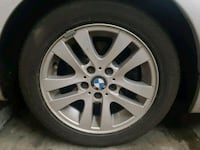 """BMW 16"""" Wheels and Tires off 325xi 3735 km"""
