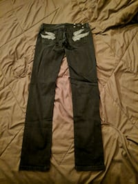 New Black Miss Me Skinny jeans Sz 28 798 mi