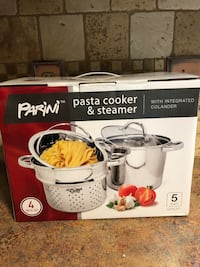 New Pasta Cooker & Steamer Alma, 72921