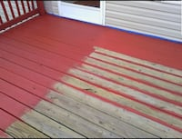 red and brown wood plank floor Manassas, 20109