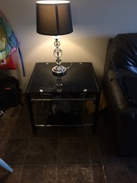 black and gray table lamp Altoona, 50009