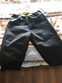 Sweat half pant for gym for ladies black new