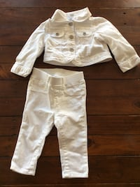 Baby Gap White Jean Outfit Vaughan, L6A 4S2