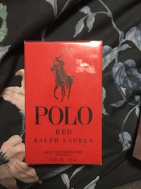 Sealed authentic polo Ralph Lauren red 125ml cologne  Toronto, M3L 1W9