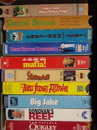 Random Collection Of 15 VCR/VHS Tapes PURCELLVILLE