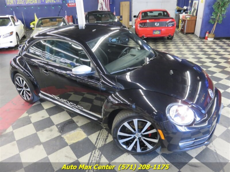 2012 Volkswagen Beetle Turbo 1