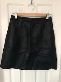 Zara Leather skirt small Toronto, M4B 1B7