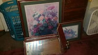 brown wooden frame lot East Liverpool, 43920