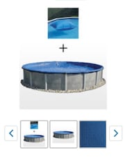 Leslie's round pool cover 15'' new Moreno Valley