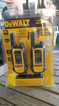 Dewalt DXFRS300 Walkie Talkie Radio Port Coquitlam, V3B 1N4