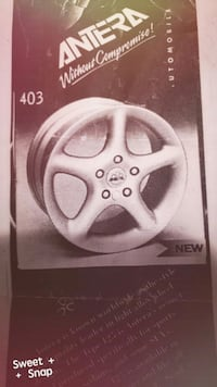 BRAND NEW:Antera Wheel Design
