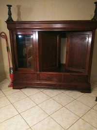 Entertainment center real oak hand crafted Wilsonville, 35186