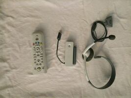 Xbox 360 remote wireless adapter and headset