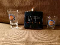 New drink flask with two shot glasses  Fallbrook, 92028