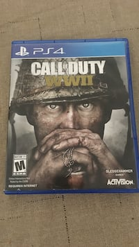 PS4  GAME CALL OF DUTY WWII Santa Ana, 92704