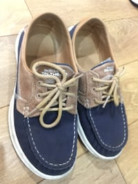 pair of blue boat shoes Richmond, V7C 1W5