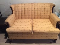 beige 2-seat couch Glendale, 63122