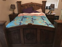 5 piece Western theme bedroom set
