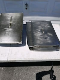 Restaurant Fryer Stainless Steel Cover