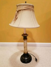 CANDLESTICK LAMP Sterling, 20165