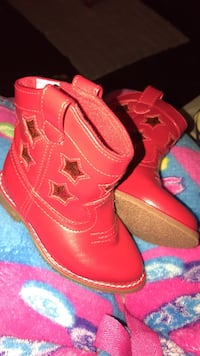 Red Cowboy Boots for Toddler-Size 4 New York, 10456