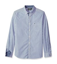 blue and white pinstripe dress shirt Silver Spring, 20906
