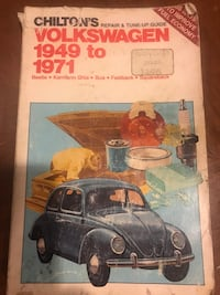 1949-1971 Chilton's Volkswagen repair & tune-up guide book Burlington, L7L 1S9