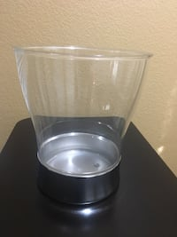 """10"""" Stainless steel accented trash can Phoenix, 85024"""