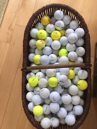 Basket  of golf balls Frederick, 21701