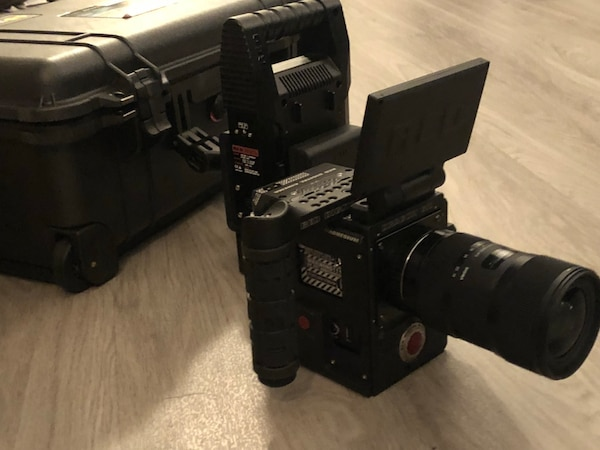 Red Dragon 6k camera low hours