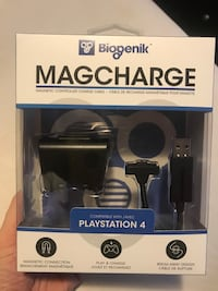PS4 controller magnetic charging system never opened Mississauga, L5V