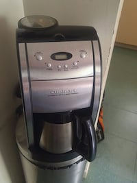 gray and black Cuisinart coffeemaker Hamilton