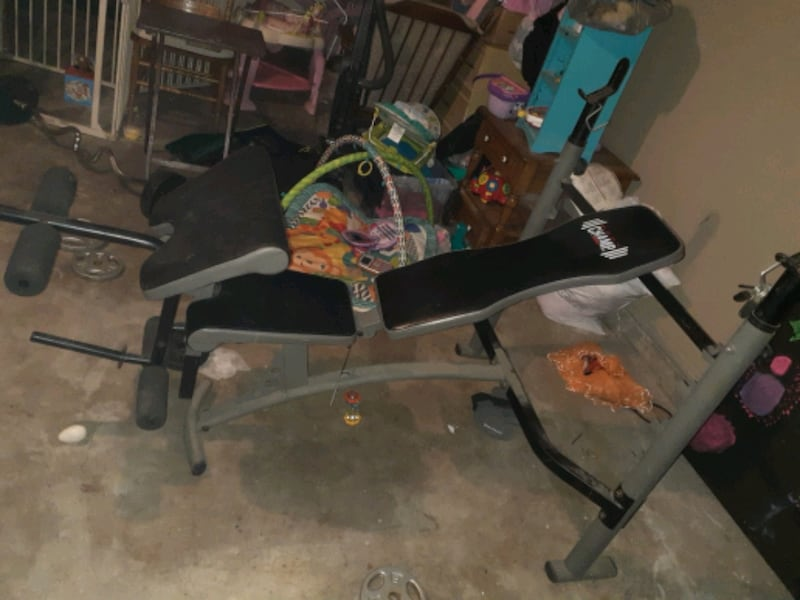 Body champ weight bench  0