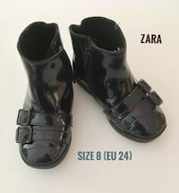 Zara Toddler Size 8 Booties in Excellent Condition  Montréal, H4M 2K7