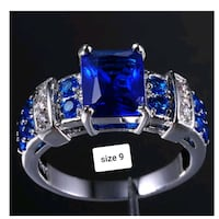 925 with blue and clear stones San Jose, 95139