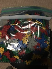 assorted-color Lego block toy lot Kitchener