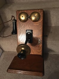 Antique solid wood phone Lake Worth, 33467