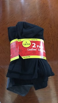 2 pair leggings size 12-14 Joliet, 60431