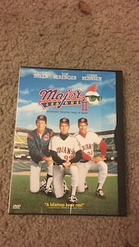 Major League DVD case