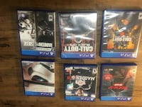 I am selling six PS4 games.really trying to get rid of it so I am willing to negotiate Fairbanks, 99703
