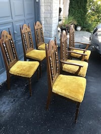 6 chairs in excellent condition  Brampton, L7A