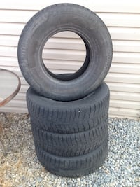 4 Michelin X-ice tires  235/75 R15. Kelowna, V1W 2E9